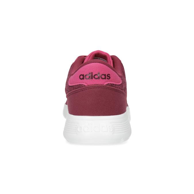 Ružové detské tenisky so žíhaním adidas, ružová, 409-5188 - 15
