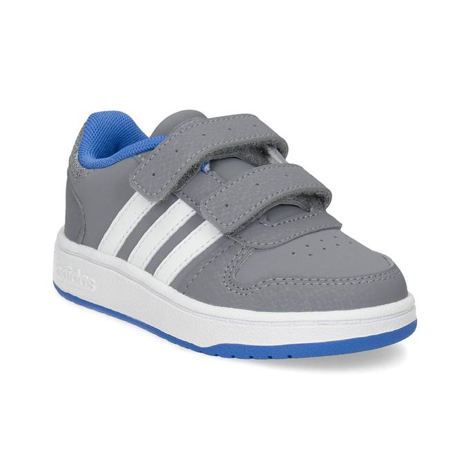 Adidas Šedé detské tenisky s modrými detailami - Všetky chlapčenské ... 137cce14287