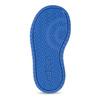 Šedé detské tenisky s modrými detailami adidas, šedá, 101-2194 - 18