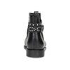 Členkové dámske gumáky s prackou bata, čierna, 592-6601 - 15