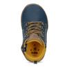 Členkové detské modré tenisky bubblegummers, modrá, 111-9629 - 17
