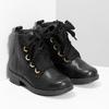 Kožená členková detská obuv mini-b, čierna, 424-6600 - 26