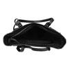 Čierna kabelka v štýle Tote s kamienkami bata, čierna, 969-6875 - 15