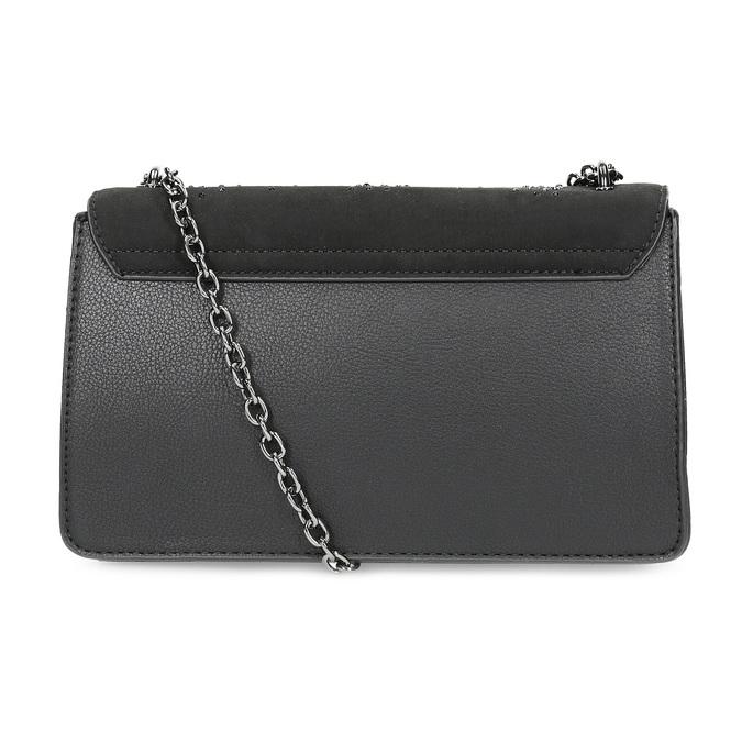 Dámska čierna Crossbody kabelka bata, čierna, 969-6874 - 16