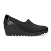 Čierna dámska obuv na kline comfit, čierna, 619-6600 - 19