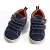 Detské kožené členkové tenisky bubblegummers, modrá, 113-9611 - 16