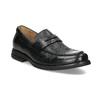Kožené čierne Penny Loafers mokasíny comfit, čierna, 814-6627 - 13
