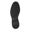 Kožené čierne Penny Loafers mokasíny comfit, čierna, 814-6627 - 18