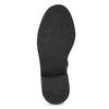 Čierne dievčenské čižmy mini-b, čierna, 391-6655 - 18