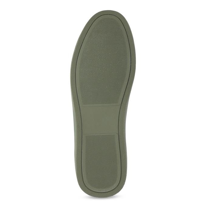 Pánske khaki tenisky bata-red-label, zelená, 841-7623 - 18