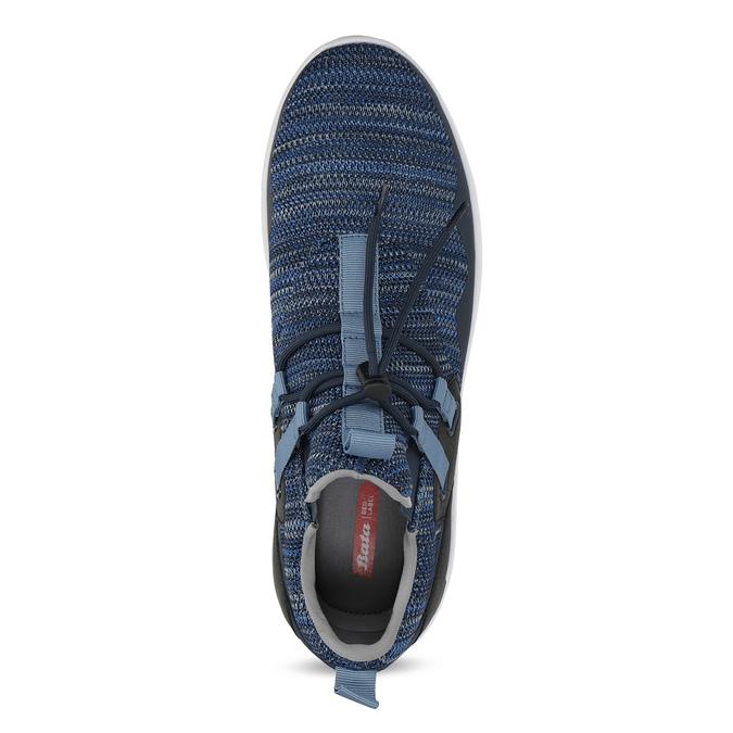 Slip-on modré tenisky bata-red-label, modrá, 841-9620 - 17
