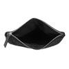 Čierna listová kabelka s klopou a kamienkami bata, čierna, 961-6910 - 15