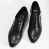 Dámske kožené čierne Oxfordky bata, čierna, 524-6668 - 16