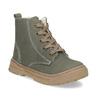 Detská kožená zimná obuv s prešitím mini-b, 296-3600 - 13