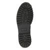 Pánska kožená zimná čierna obuv bata, čierna, 896-6735 - 18