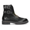 Pánska kožená zimná čierna obuv bata, čierna, 896-6735 - 19