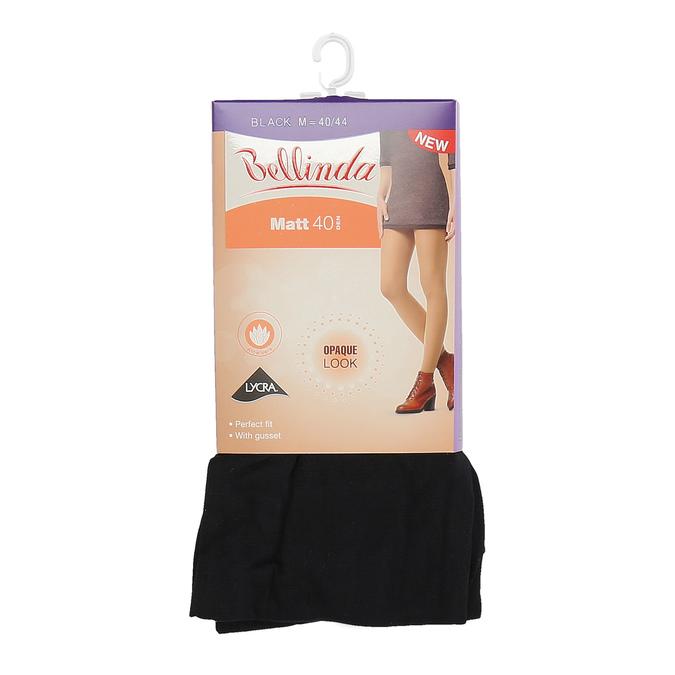 Dámske čierne punčochové nohavice bellinda, čierna, 919-6739 - 13
