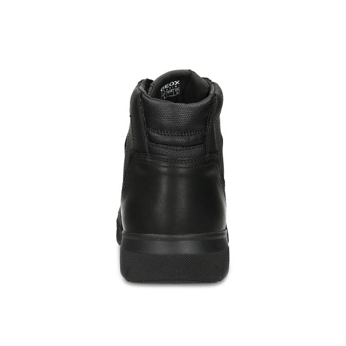 Pánska čierna členková obuv geox, čierna, 821-6033 - 15