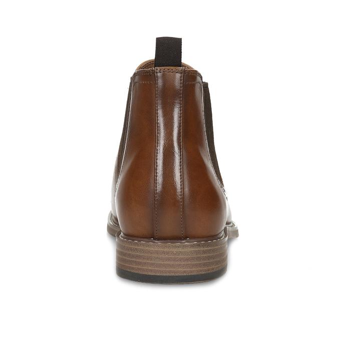 Pánska hnedá Chelsea obuv bata-red-label, hnedá, 821-3611 - 15