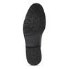 Pánska hnedá lesklá členková obuv bata, hnedá, 896-3720 - 18