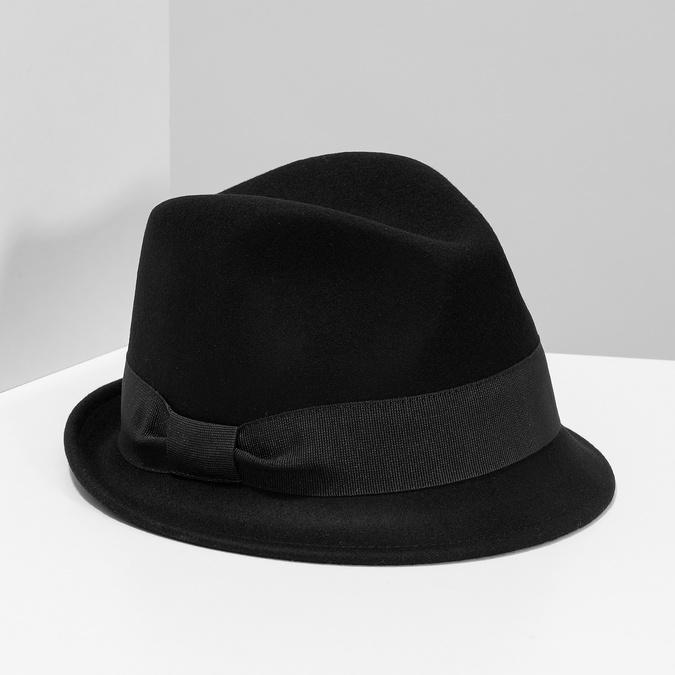 Čierny klobúk bata, čierna, 909-6354 - 15