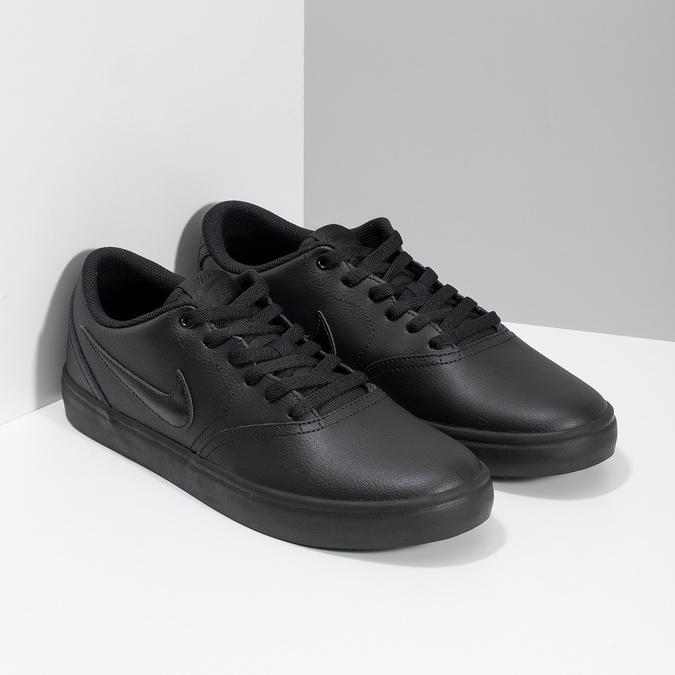 Čierne pánske ležérne tenisky nike, čierna, 801-6244 - 26