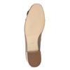 Béžové kožené lodičky so strapcami hogl, béžová, 626-8080 - 18