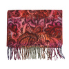 Šál s orientálnymi vzormi bata, červená, 909-5723 - 13