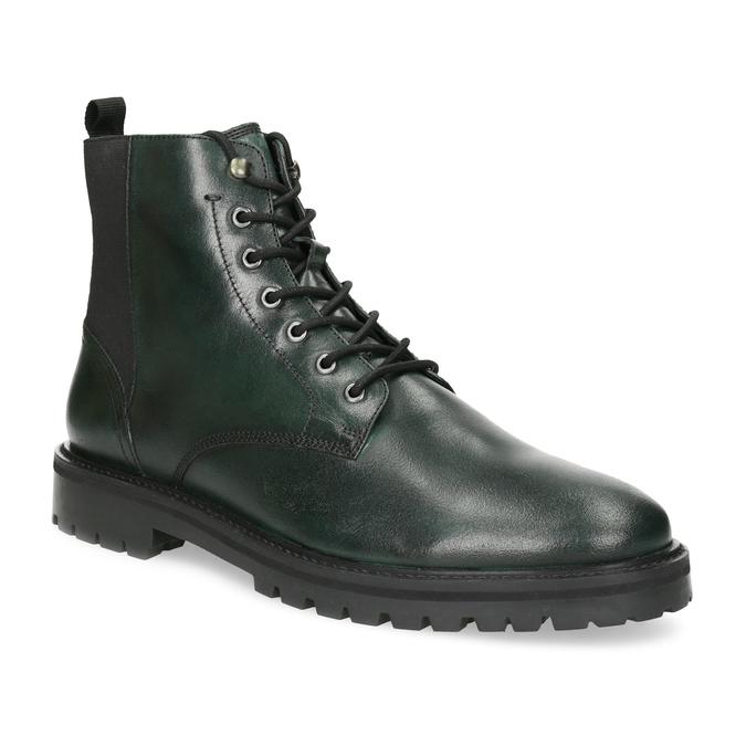 Pánska členková obuv tmavozelená bata, zelená, 896-7722 - 13