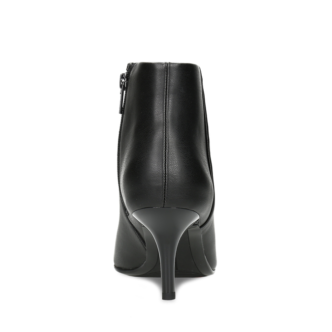 Dámska členková obuv na podpätku bata-b-flex, čierna, 791-6621 - 15