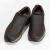 Pánska hnedá kožená obuv s pružením camel-active, hnedá, 826-4091 - 16