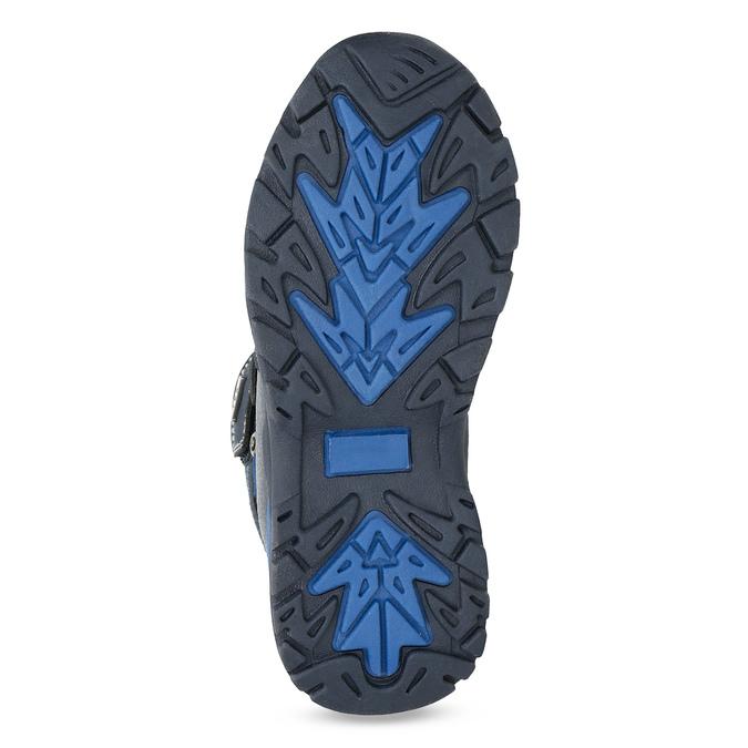 Detská zimná obuv na suchý zips mini-b, modrá, 491-9653 - 18