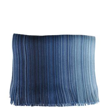 Pánsky modrý pruhovaný šál bata, modrá, 909-9715 - 13