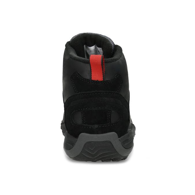 Kožená pánska členková obuv outdoorová merrell, čierna, 806-6102 - 15
