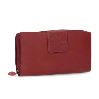 Kožená dámska červená peňaženka s mandalou bata, červená, 944-5615 - 13