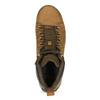 Hnedá pánska kožená členková obuv caterpillar, hnedá, 806-3107 - 17