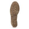Dámska hnedá kožená členková obuv weinbrenner, hnedá, 696-3668 - 18