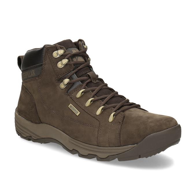 65a8e33e0 Kožená hnedá pánska outdoorová obuv caterpillar, hnedá, 806-4108 - 13