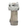 Béžové kožené dámske zimné čižmy weinbrenner, béžová, 596-2753 - 15