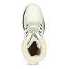 Biele kožené čižmy na stabilnom podpätku weinbrenner, biela, 696-1667 - 17