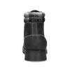 Čierna dámska kožená členková obuv weinbrenner, čierna, 596-6729 - 15