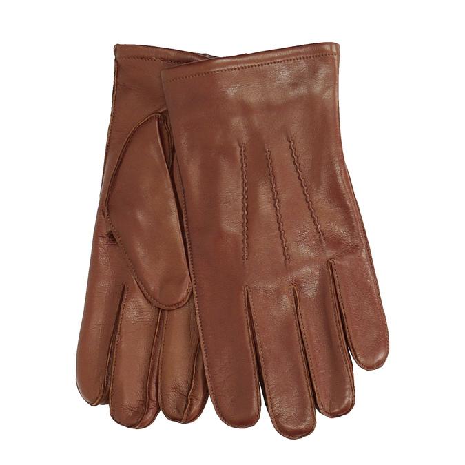 Baťa Pánske hnedé kožené rukavice - Dámske  e52085d24f