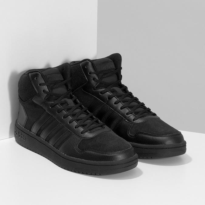 Pánske členkové tenisky čierne adidas, čierna, 803-6118 - 26
