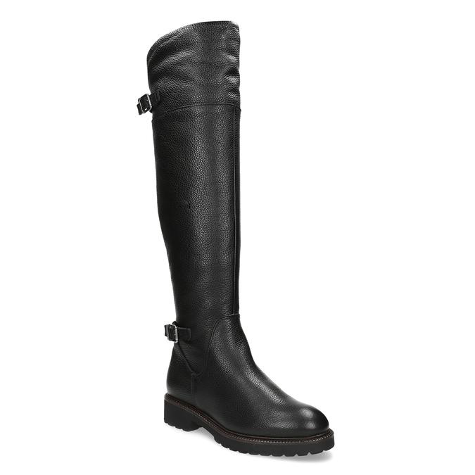 88bdcf240b Baťa Vysoké kožené čižmy nad koleno - Ženy