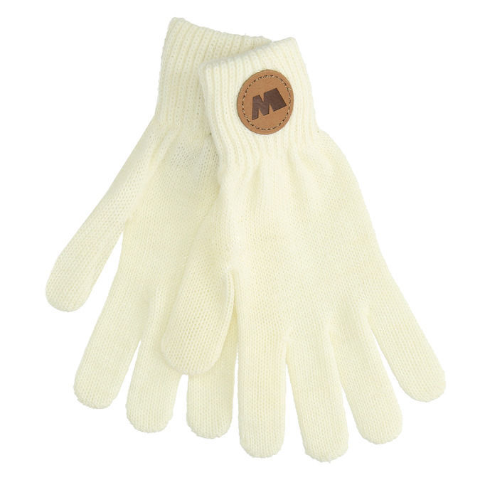 Krémové textilné rukavice weinbrenner, biela, 909-1734 - 13
