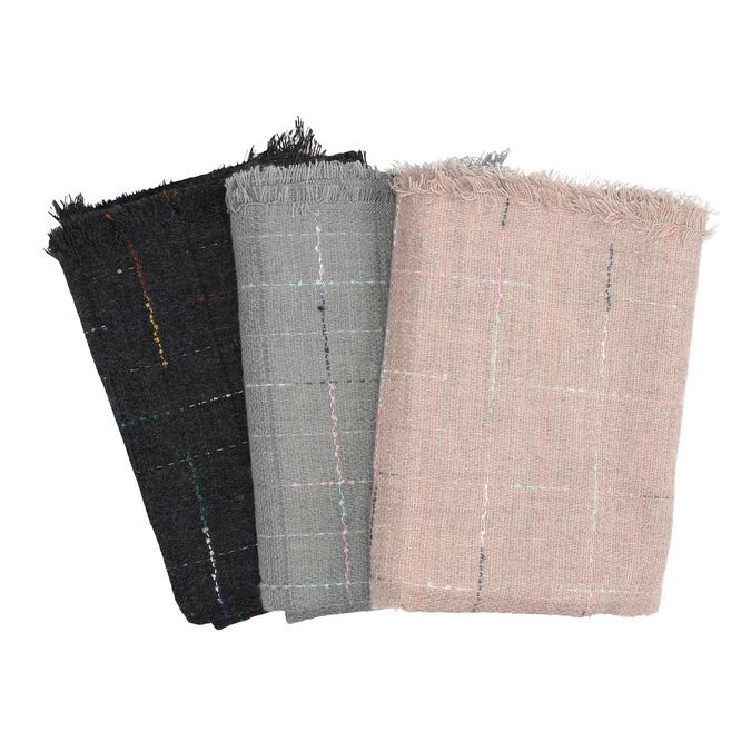 Dámska šatka s jemným dizajnom bata, viacfarebné, 909-0715 - 13