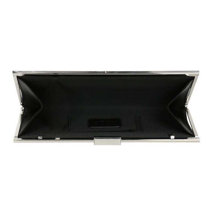 Čierna dámska listová kabelka s retiazkou bata, čierna, 969-6811 - 15