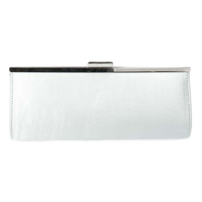 Elegantná dámska listová kabelka s retiazkou bata, strieborná, 969-1811 - 26