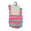 Detské vysoké pruhované ponožky bata, šedá, 919-2686 - 13