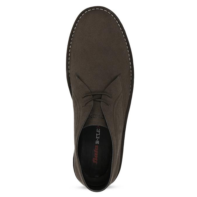 Hnedá pánska členková obuv bata-b-flex, hnedá, 899-4600 - 17